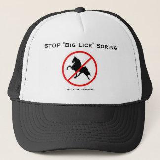 """STOP """"Big Lick"""" Soring Trucker Hat"""