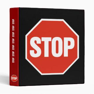 STOP Binder