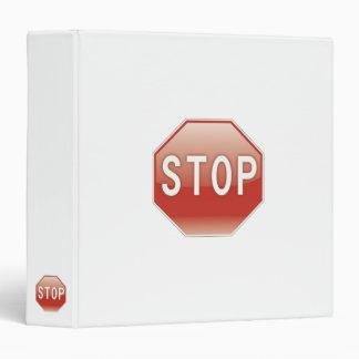Stop - Binder