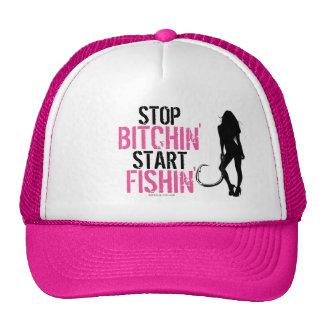 STOP BITCHIN' START FISHIN' TRUCKER HAT