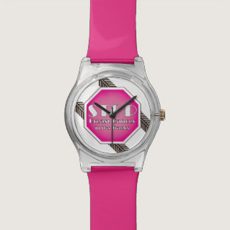 Stop Breast Cancer Wrist Watch
