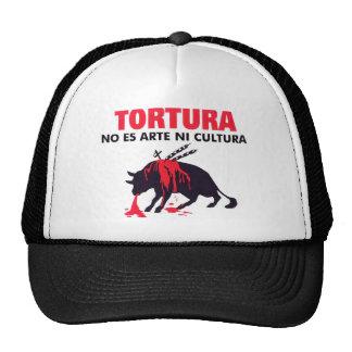 STOP BULLFIGHTING TRUCKER HAT