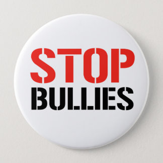 STOP BULLIES PINBACK BUTTON