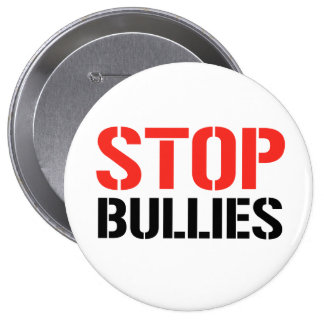 STOP BULLIES PINBACK BUTTON