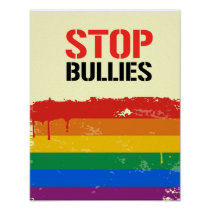 STOP BULLIES POSTER