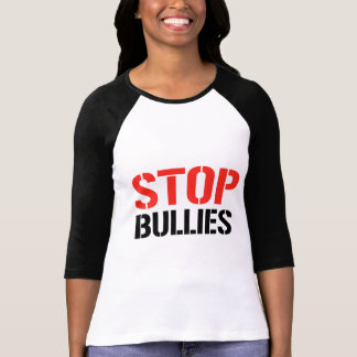 STOP BULLIES T-SHIRTS