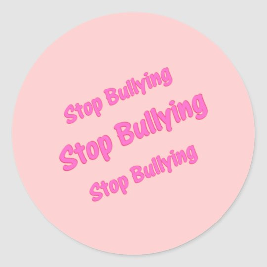 Stop Bulling Sticker