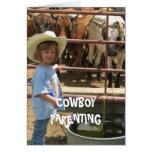 Stop Bullying #1 of 7 - Cowboy Parenting Card
