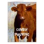 Stop Bullying #2 of 7 - Cowboy Parenting Greeting Card