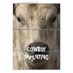 Stop Bullying #5 of 7 - Cowboy Parenting Greeting Card