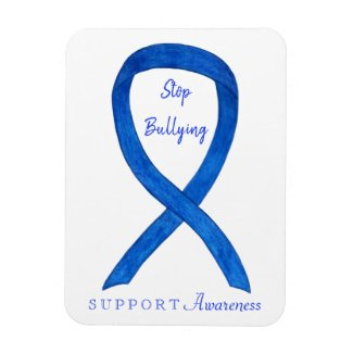 Stop Bullying Awareness Ribbon Customized Magnets