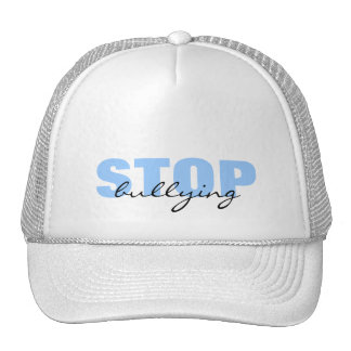 Stop Bullying Blue Simple Hat