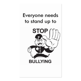 Stop Bullying Cards