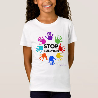 Stop Bullying Girls T Shirt