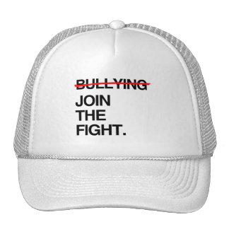 STOP BULLYING JOIN THE FIGHT MESH HAT