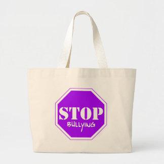 Stop Bullying Large Tote Bag