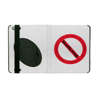 Stop Bullying-Logo by Shirley Taylor iPad Cover