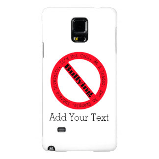 Stop Bullying-Logo Galaxy Note 4 Case