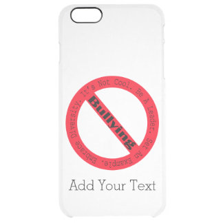 Stop Bullying-Logo Uncommon Clearly™ Deflector iPhone 6 Plus Case