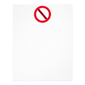 Stop Bullying-Logo Letterhead Template