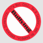 Stop Bullying-Logo Round Stickers