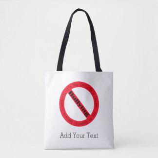 Stop Bullying-Logo Tote Bag