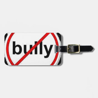 stop bullying tags for bags