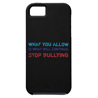 Stop Bullying No Bullying Against Bullying iPhone 5 Case