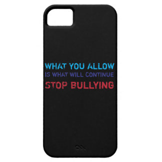 Stop Bullying No Bullying Against Bullying iPhone 5 Cases