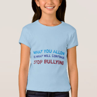 Stop Bullying No Bullying Against Bullying T-Shirt
