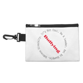 Stop Bullying-Outline by Shirley Taylor Accessory Bag