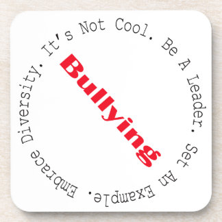 Stop Bullying-Outline by Shirley Taylor Coaster