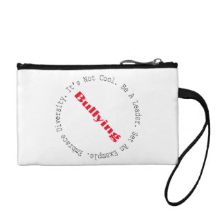 Stop Bullying-Outline by Shirley Taylor Coin Purse