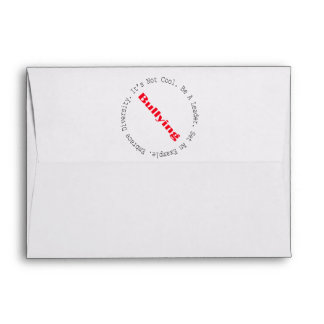 Stop Bullying-Outline by Shirley Taylor Envelope
