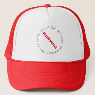Stop Bullying-Outline by Shirley Taylor Trucker Hat