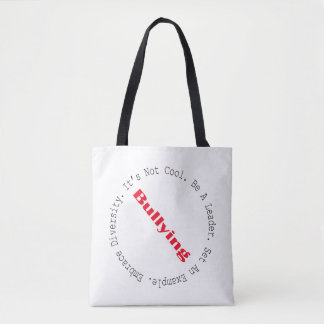 Stop Bullying-Outline Tote Bag