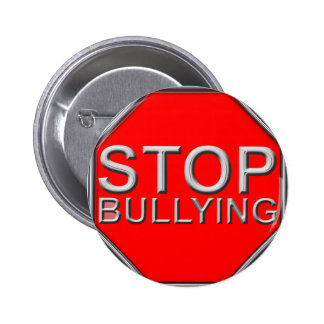 Stop Bullying Pinback Button