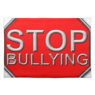 Stop Bullying Cloth Place Mat