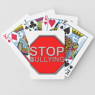 Stop Bullying Bicycle Playing Cards