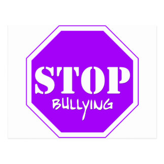 Stop Bullying Post Card