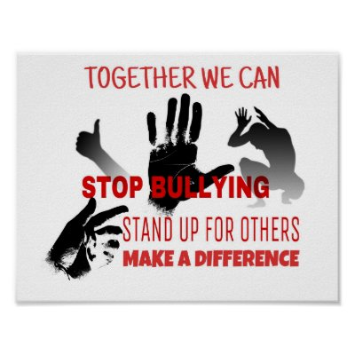Extrêmement Stop Bullying Poster | Zazzle.com HY95