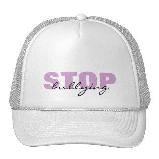 Stop Bullying Purple Simple Hat