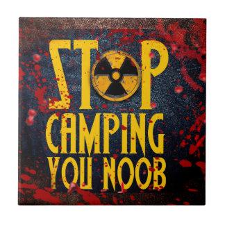 Stop Camping You Noob v3 Tile