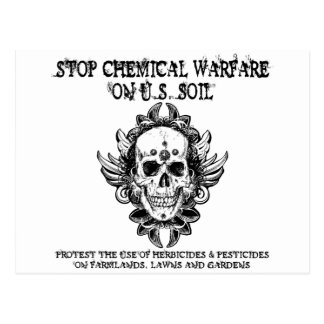 Stop Chemical Warfare Post Cards
