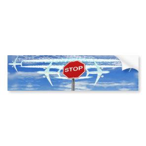 Stop Chemtrails Bumper Sticker