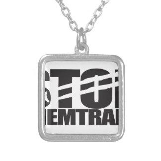 Stop Chemtrails Custom Jewelry