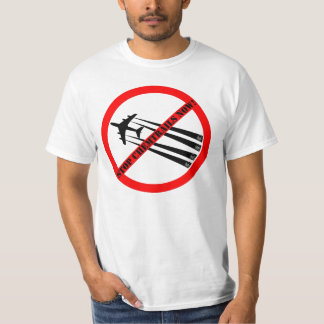 STOP CHEMTRAILS FUMIGATE TO US! T-Shirt