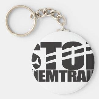 Stop Chemtrails Keychain