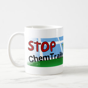 Stop Chemtrails Lady Bug Ecocide Coffee Mug