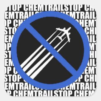 Stop Chemtrails Sticker